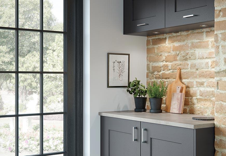Clonmel Lava Graphite Kitchen