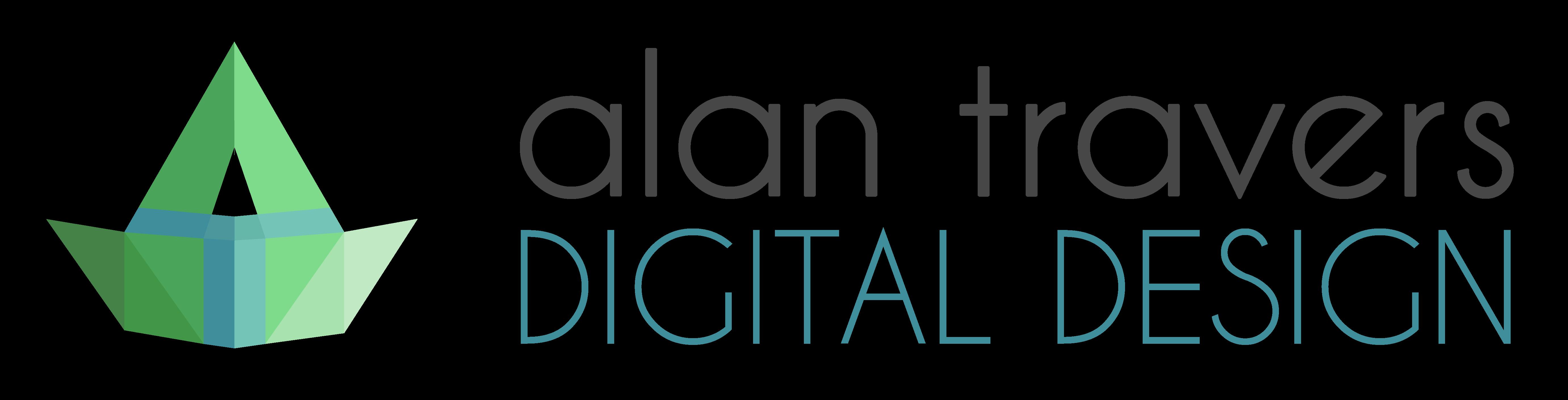 Alan Travers Digital Design Logo 2021
