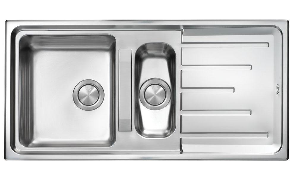 Brando 1.5 Stainless Steel Sink Galway