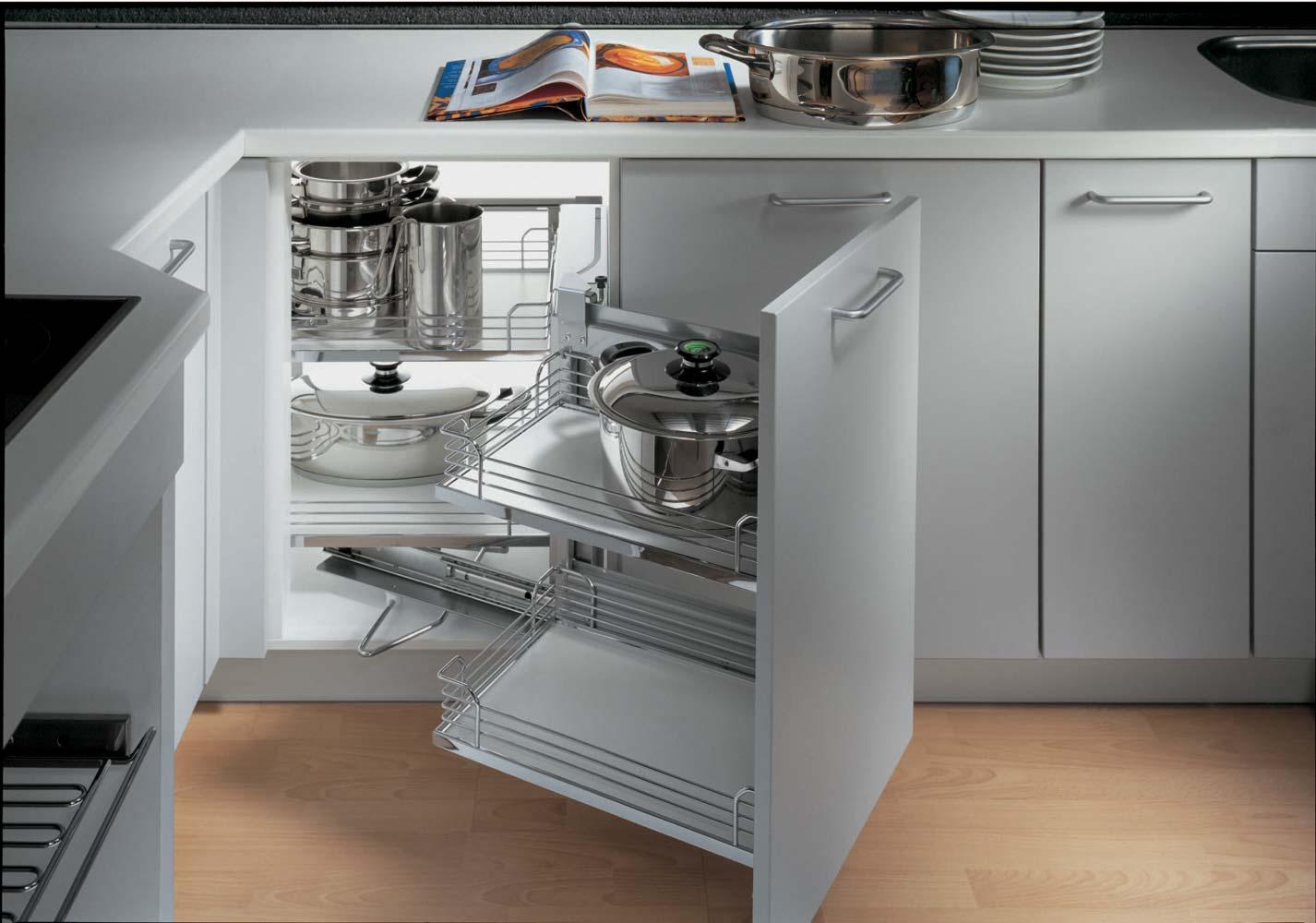 Intelligent Corner Cabinet Kitchen Storage Galway