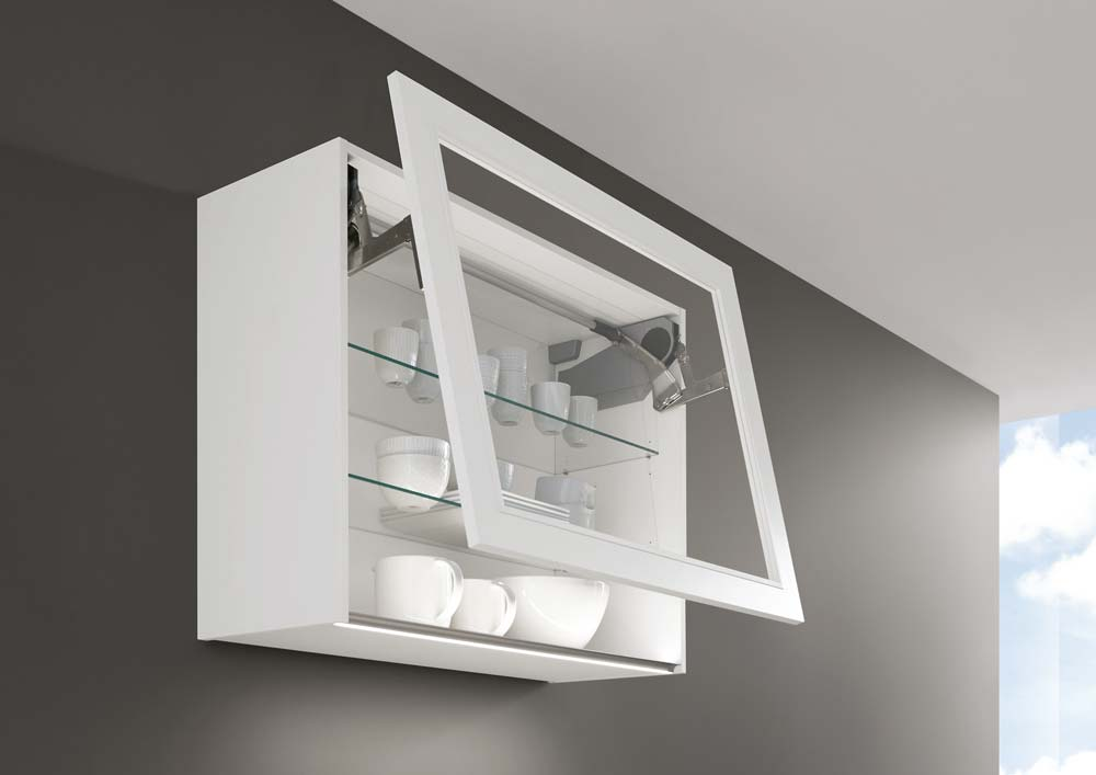 Kitchen Lift Up Wall Unit System Galway
