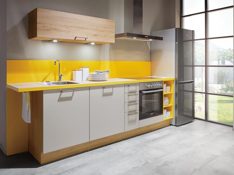 Standard Handle System Contemporary Kitchen Galway